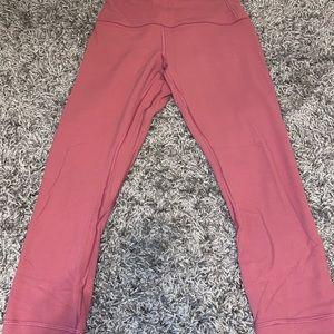 Lululemon Pink Align 3/4 Legging